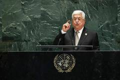 Palestinian president addresses General Debate of 74th session of UN General Assembly